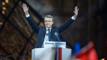 """08-05-2017 00:24 """"Musimy zbudować silną większość parlamentarną"""". Macron do swoich zwolenników"""