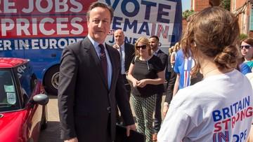07-06-2016 13:11 Cameron nie boi się Brexitu uważa, że zwolennicy wyjścia z Unii kłamią