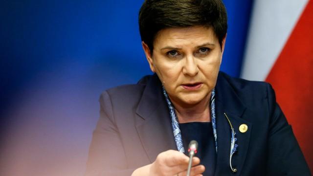 Premier Szydło: Tusk nie był kandydatem polskiego rządu; nie jest dobrym szefem RE