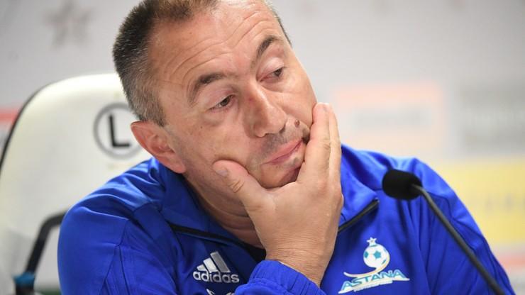 Trener FK Astana: Presja nie jest nam obca