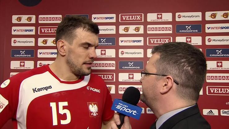 2016-01-15 Michał Jurecki: Presji meczu otwarcia nie dało się oszukać