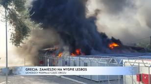 Grecja: zamieszki w obozie dla imigrantów na wyspie Lesbos