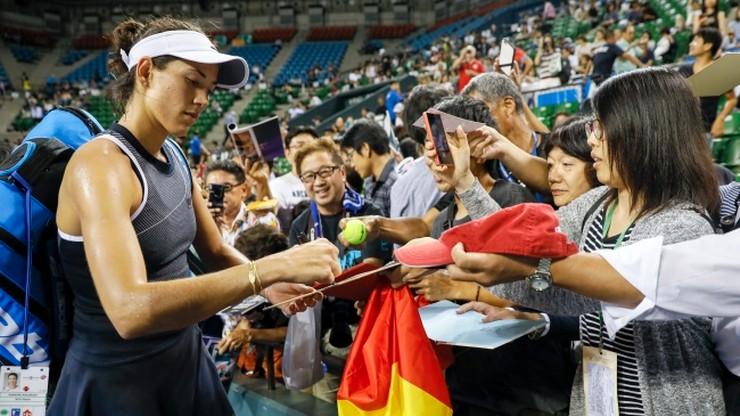 WTA w Tokio: Muguruza w półfinale, krecz Cibulkovej