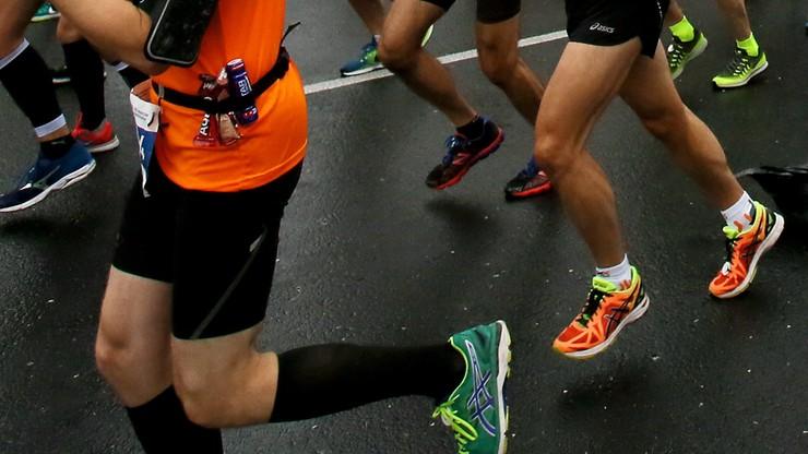 Zmarł jeden z uczestników Maratonu Warszawskiego. Stracił przytomność na trasie biegu