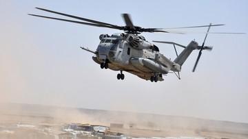 09-10-2016 08:45 Wojskowy śmigłowiec rozbił się w Afganistanie. Zginęli żołnierze