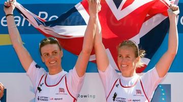 2017-04-24 Mistrzynie olimpijskie w wioślarstwie zmierzyły się w londyńskim maratonie