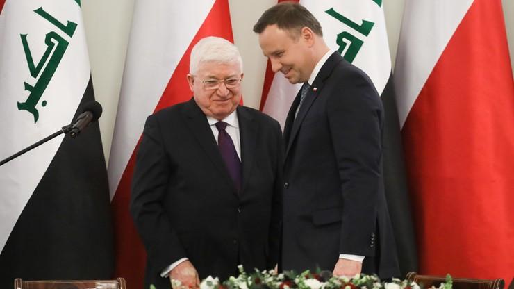 Prezydent Duda: Polska aktywnie wspiera walkę z Państwem Islamskim