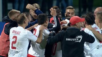 2017-09-19 Puchar Polski: Pogoń Szczecin za burtą! Pierwszoligowiec gra dalej