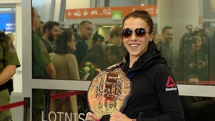 UFC: Awans Jędrzejczyk w rankingu bez podziału na kategorie wagowe