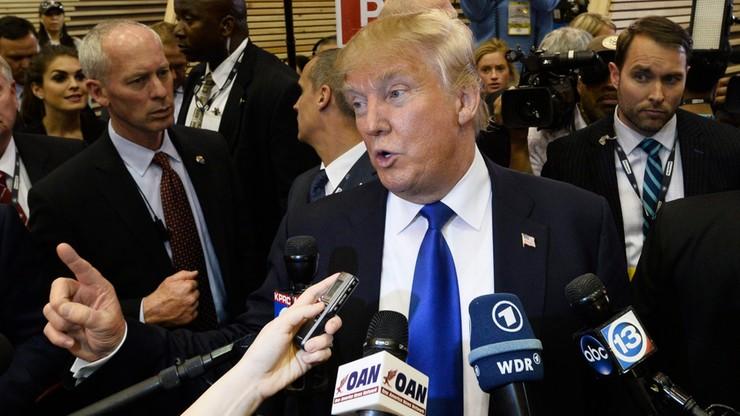 Niespodziewane poparcie dla Trumpa. Pomógł mu jego niedawny rywal