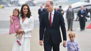 17-07-2017 17:34 Książę William i księżna Kate z wizytą w Polsce