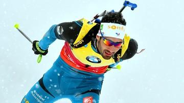 2017-01-15 PŚ w biathlonie: Kolejne zwycięstwo Fourcade'a