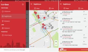 2016-10-21 Zlokalizujesz swój autobus. W Warszawie działa aplikacja TramBus