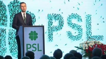 """19-11-2016 16:18 """"Musimy przenieść grę na nasze pole"""". Kosiniak-Kamysz ponownie prezesem PSL"""