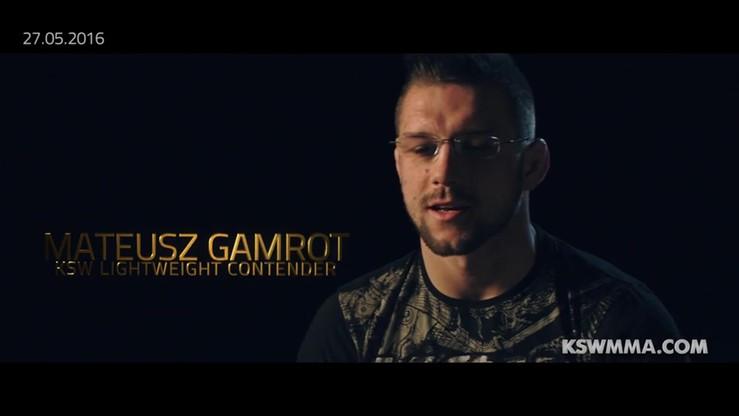 2016-05-21 Gamrot: KSW chce, żebym przegrał. Zapowiedź walki z Barnaouim