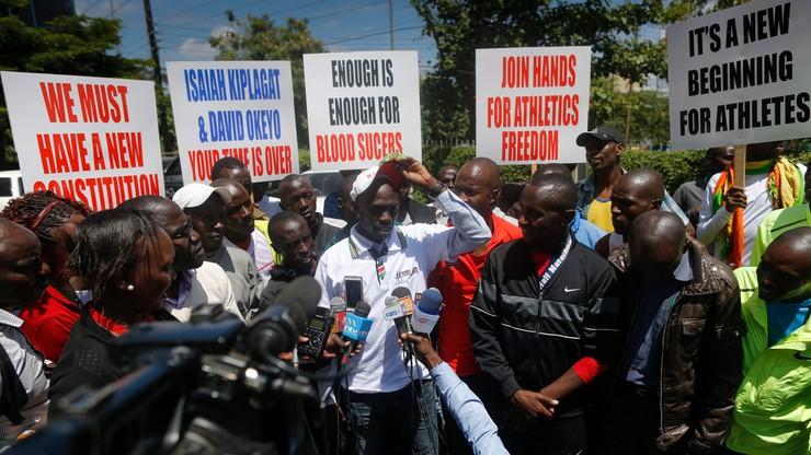 Kenijscy sportowcy walczą z korupcją. Okupują siedzibę federacji lekkoatletycznej