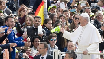 26-04-2017 14:19 Papież: ja też jako syn imigrantów mogłem być wśród odrzuconych