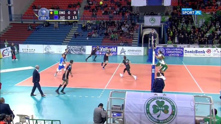 Omonia Nikozja - Jastrzębski Węgiel 0:3. Skrót meczu
