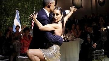 24-03-2016 10:35 Barack Obama tańczy tango w Argentynie