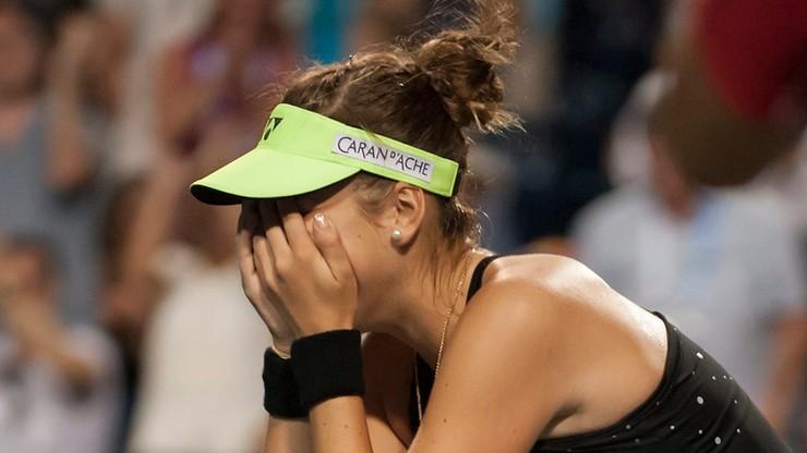 WTA Toronto: Bencic z tytułem. Halep przegrała z kontuzją