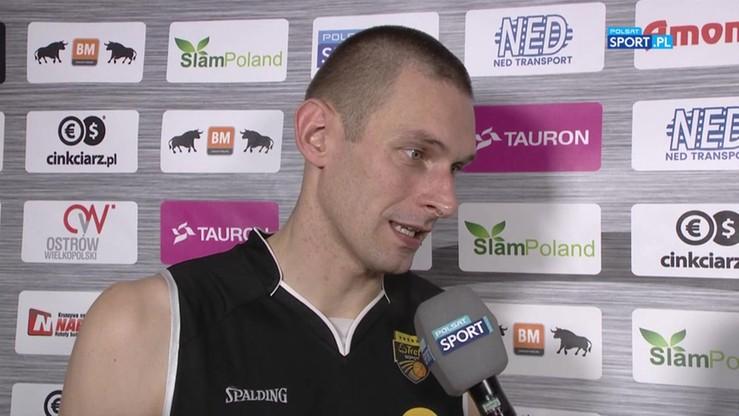 2016-10-16 Dylewicz po meczu ze Stalą