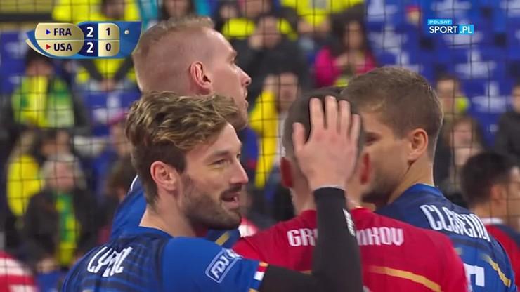 Francja – USA 3:2. Tie-break