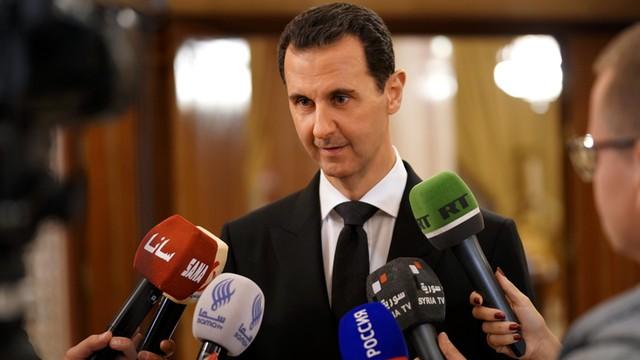 Prezydent Syrii: Siły wspierane przez USA to zdrajcy