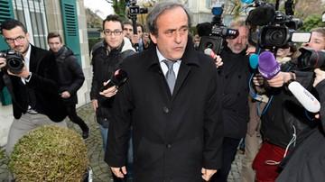 2015-12-08 Euro 2016: Platini chce być obecny przy losowaniu grup