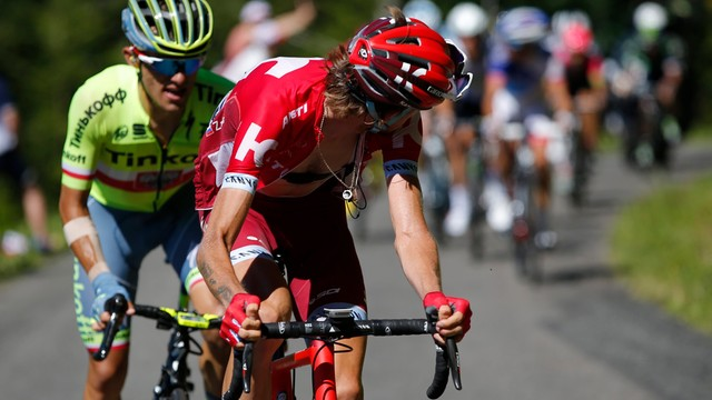 Tour de France - Rafał Majka drugi na 15. etapie wyścigu