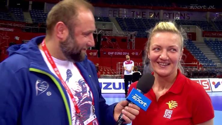 Anna Ejsmont na Euro pracuje z... Hiszpanią!