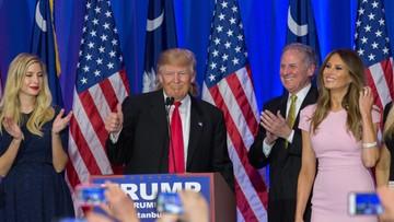 21-02-2016 06:39 USA: Trump wygrał prawybory w Karolinie Płd. Bush wycofał się z wyścigu