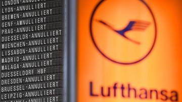 25-11-2016 12:40 Lufthansa odwołuje 25 lotów do Warszawy, Krakowa i Wrocławia