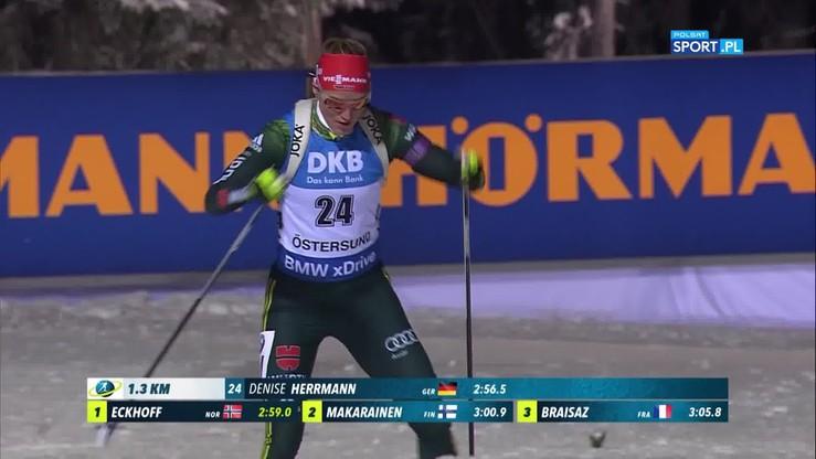 Obiecujący występ Guzik! Skrót sprintu na 7,5 km