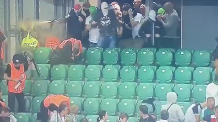 Pseudokibice Legii chcieli zaatakować fanów Borussii. Będą kolejne mecze przy pustych trybunach? (WIDEO)