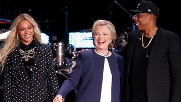 05-11-2016 07:21 Beyonce i Jay-Z pomagają Clinton na finiszu kampanii