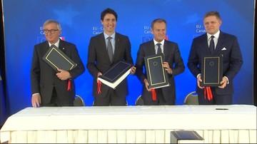 30-10-2016 14:04 Unia i Kanada podpisały umowę gospodarczo-handlową CETA