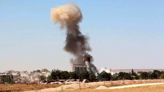 Izrael przeprowadził ataki rakietowe na syryjską armię
