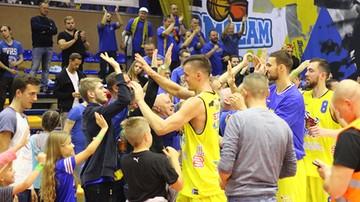 2017-11-05 BM Slam Stal Ostrów Wielkopolski – TBV Start Lublin. Transmisja w Polsacie Sport