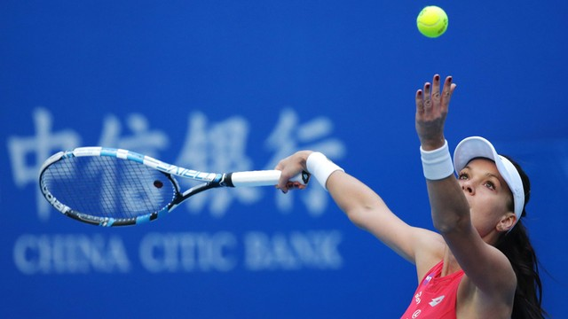 WTA Tiencin - Agnieszka Radwańska awansowała do półfinału