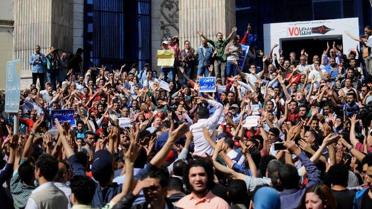 Egipt: protest przeciw przekazaniu dwóch wysp Arabii Saudyjskiej