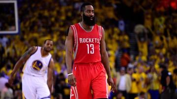 2016-12-17 NBA: Harden poprowadził Rockets do dziewiątej wygranej z rzędu