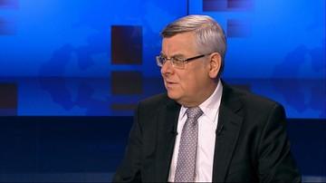 Prof. Nałęcz: prezydent i premier mogą stanąć przed Trybunałem Stanu