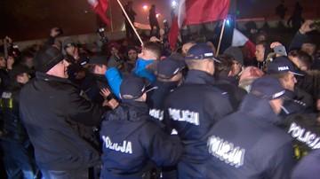 06-05-2017 11:19 Policja prowadzi sprawy o wykroczenie wobec 87 uczestników protestu przed Sejmem 16 grudnia