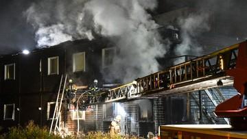 16-10-2016 19:08 Pożar w sztokholmskim ośrodku dla uchodźców. Ewakuowano 40 osób