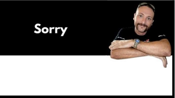 """05-07-2016 12:51 """"Sorry"""". Anglik wykupił reklamę, w której zwraca się do Polaków"""