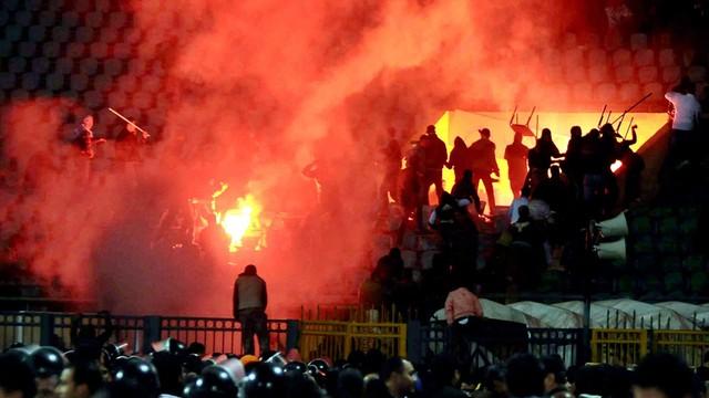 Egipt: kibice winni zamieszek w 2012 roku skazani na śmierć