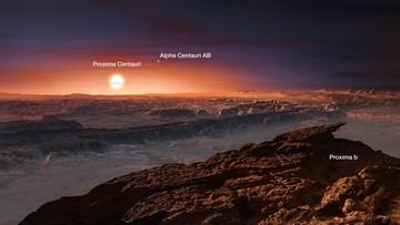 24-08-2016 22:16 Wokół najbliższej gwiazdy odkryto planetę podobną do Ziemi