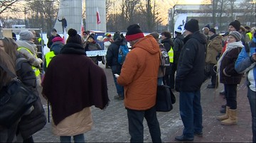 Protesty pod Sejmem 11.01.2017 r.