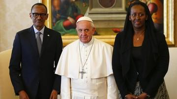20-03-2017 15:55 Papież przeprosił za grzechy Kościoła w Rwandzie