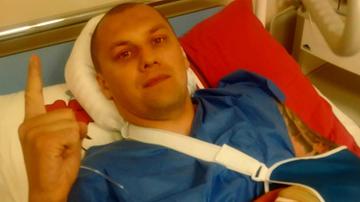2015-09-08 Polski mistrz świata przeszedł operacje ręki! Czeka go przerwa